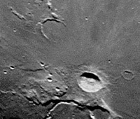 The Moon: A cratered...