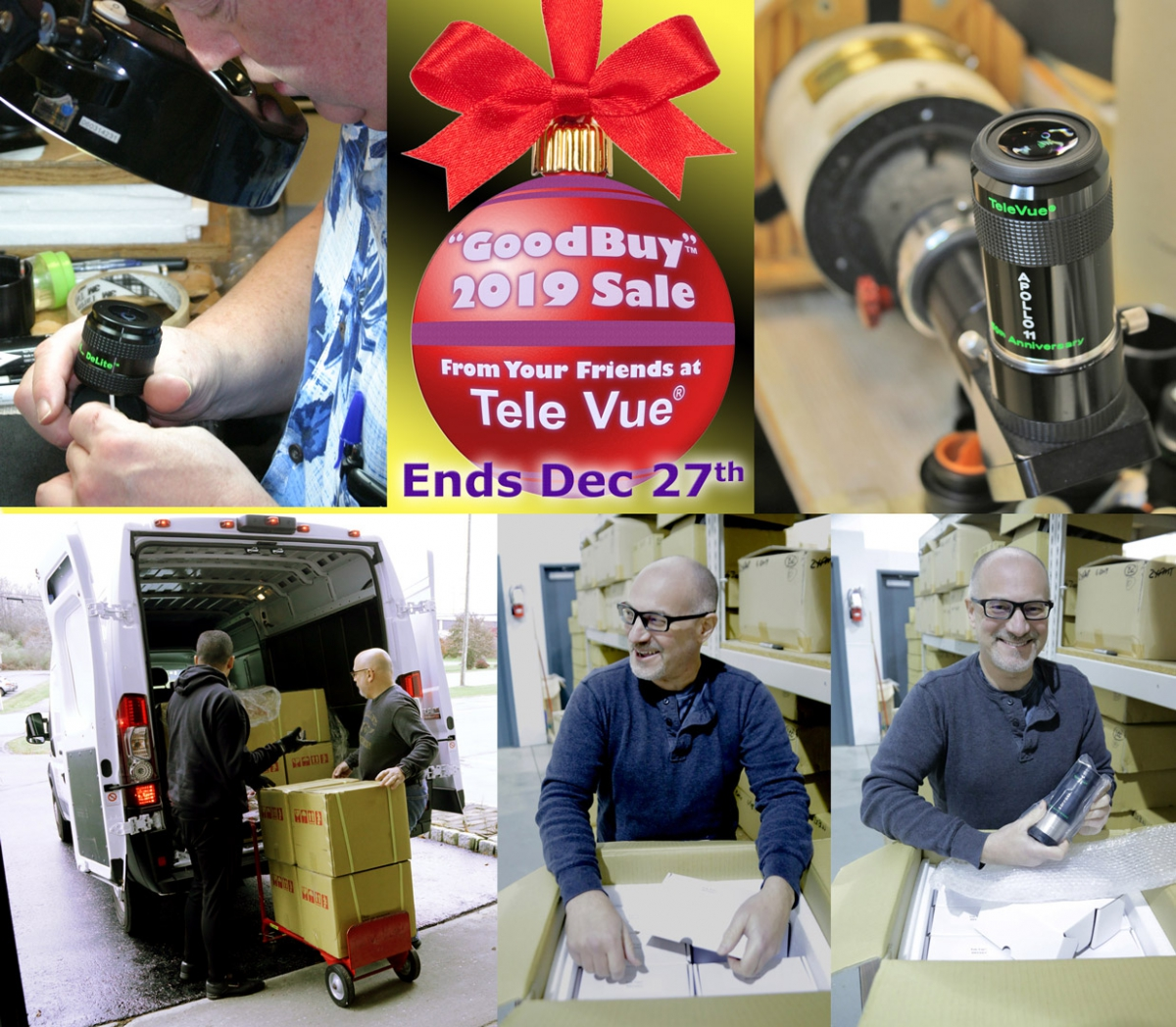 Tele Vue's Year End: Behind the Scenes!
