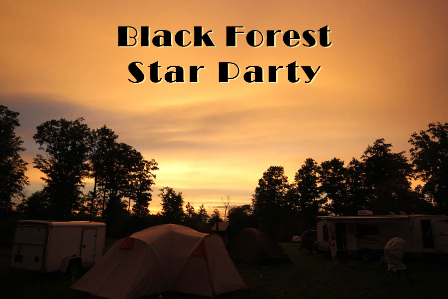 Black Forest 2019  & Observe the Moon Oct 5th!