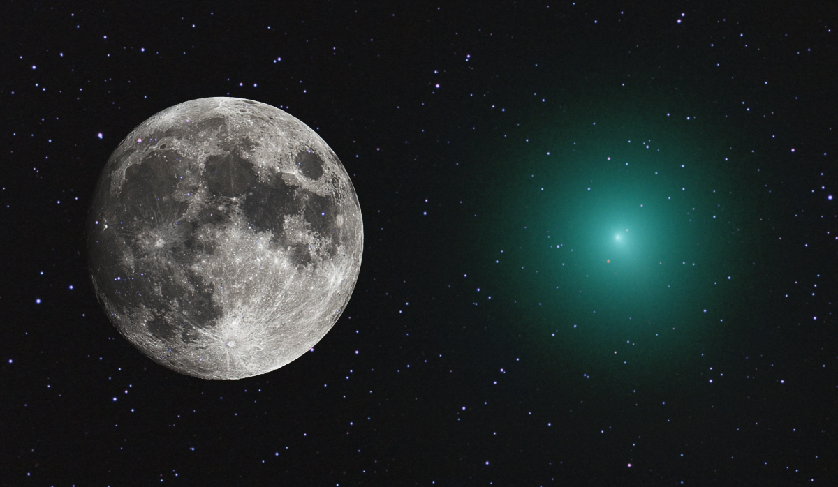 Happy Holidays from Comet 46P/Wirtanen
