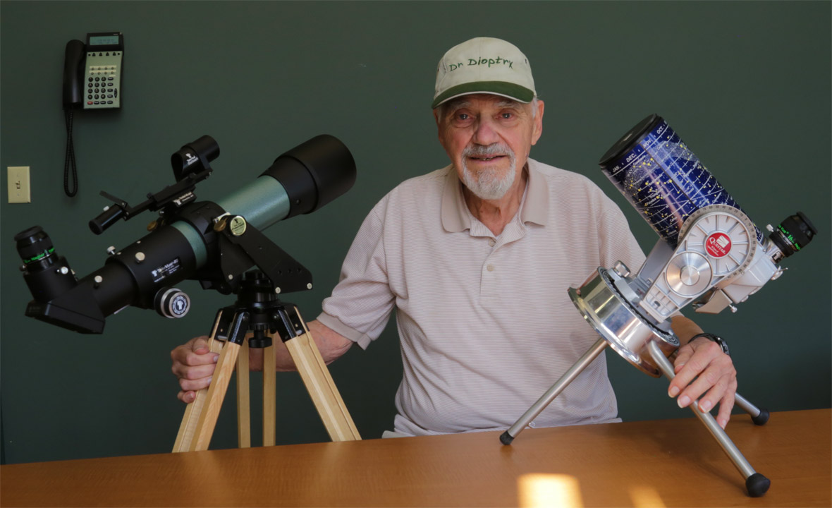 Rodger W. Gordon's Thoughts on the Tele Vue-85 and Questar 3.5″