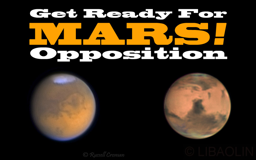 "Last ""Best"" Mars Opposition for Northern Hemisphere!"