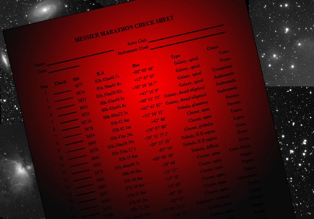 This Weekend: Messier Marathon 2021!