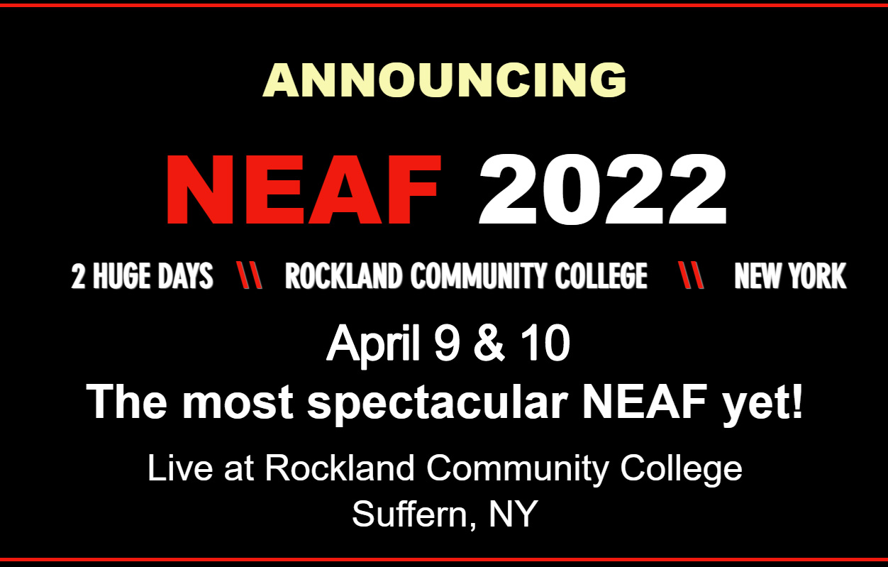 NEAF 2022 will be in-person next year!