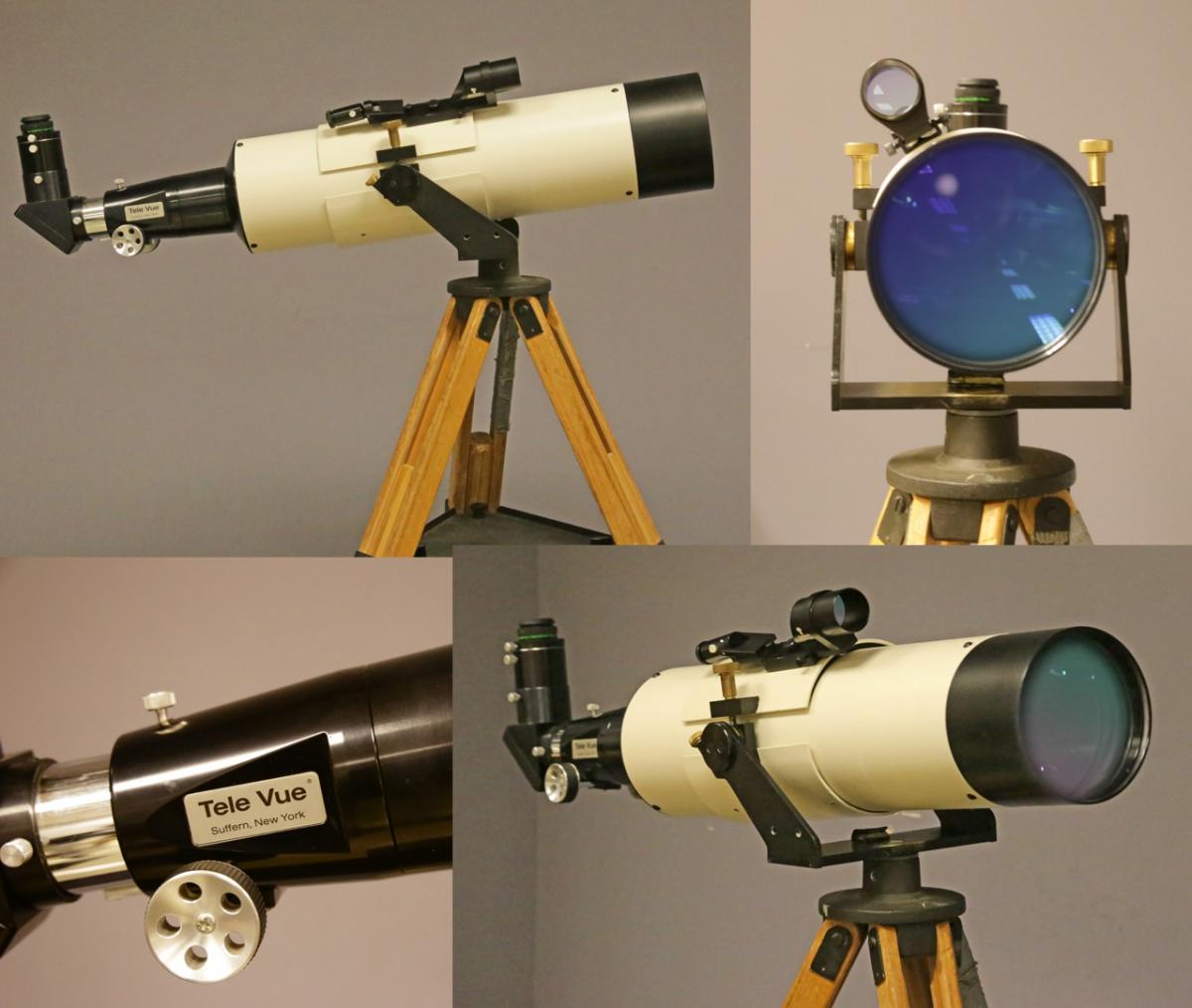 Clyde Bone's Tele Vue-140 Re-Built!
