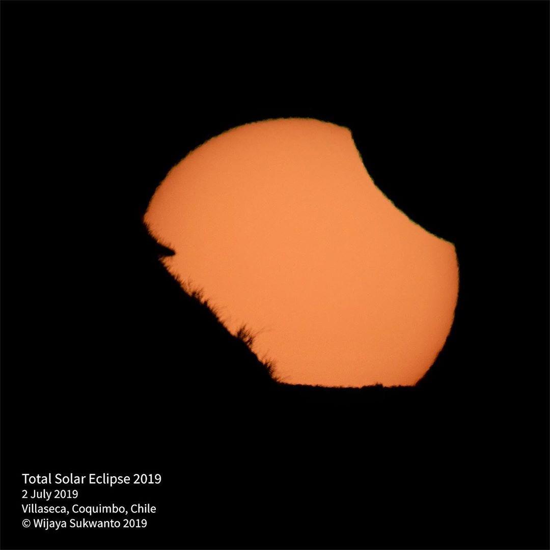 02 July 2019 Total Solar Eclipse Images