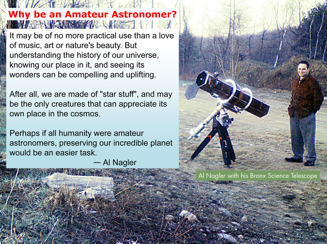 Al Nagler to Speak in Central Park this Saturn-Day!